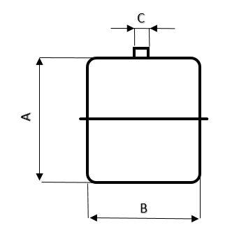 galleggiante cilindrico